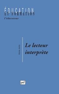 Anne Jorro - Le lecteur interprète.