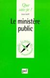 Jean Volff - Le ministère public.