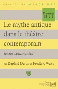 Frédéric Weiss et Daphné Deron - .