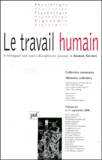Sebastiano Bagnara et  Collectif - Le travail humain Volume 63 N° 3, Sept : Mémoires collectives.