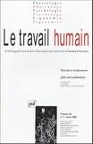 Pascal Pansu et Cyril Tarquinio - Le travail humain Volume 68 N° 1, Mars : Travail et évaluations.