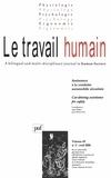 Jean-Michel Hoc et B Rajaonah - Le travail humain Volume 69 N° 2, Avri : .