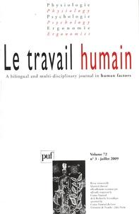 Christian Vandenberghe et Sabine Stordeur - Le travail humain Volume 72 N° 3, Juil : .