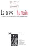 Eric Brangier - Le travail humain Volume 75 N° 2, Avri : .