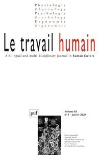 Frédéric Mériot - Le travail humain Volume 83 N° 1, janv : .