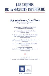 Les Cahiers de la Sécurité Intérieure N° 19, 1er trimestre.pdf