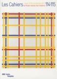François Morellet et Jean-Claude Lebensztejn - Les Cahiers du Musée national d'art moderne N° 114-115, Hiver 20 : Mondrian.