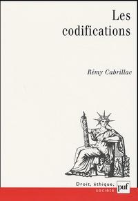 Rémy Cabrillac - Les codifications.