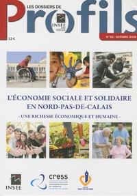 Jean-Jacques Malpot - Les dossiers de Profils N° 92, Octobre 2008 : L'économie sociale et solidaire en Nord-Pas-de-Calais - Une richesse économique et humaine.