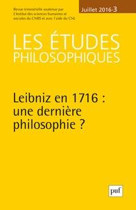 Les études philosophiques N° 3, juillet 2016.pdf