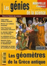 Bernard Vitrac - Les Génies de la Science N° 21, Novembre 2004 : Les géomètres de la Grèce antique.