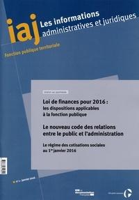 Les informations administratives et juridiques N° 1/2016.pdf