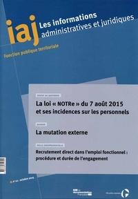 Les informations administratives et juridiques N° 10, Octobre 2015.pdf