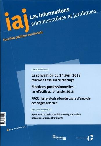 CIG petite couronne - Les informations administratives et juridiques N° 11/2017 : .