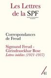 Patrick Guyomard - Les Lettres de la Société de Psychanalyse Freudienne N° 41/2019 : Correspondances de Freud ; Girindrasekhar Bose-Sigmund Freud Lettres inédites (1921-1937).