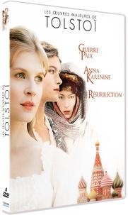 France Télévisions Editions - Les oeuvres majeures de Tolstoï - Guerre et paix ; Anna Karénine ; Résurrection. 4 DVD