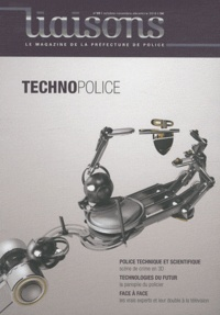 Xavier Castaing - Liaisons N° 99, Octobre-novem : Technopolice.