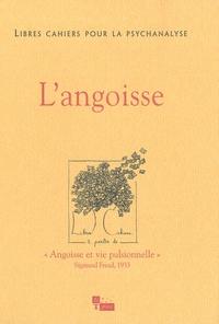 Daniel Widlöcher et Jacques Press - Libres cahiers pour la psychanalyse N° 21, printemps 201 : L'angoisse.