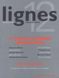 Jean-Luc Nancy et Alain Badiou - Lignes N° 12 Octobre 2003 : Le nouveau désordre international, Georges Bataille.