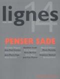 Christian Prigent et Jean-Paul Curnier - Lignes N° 14 Mai 2004 : Penser Sade.
