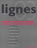 Georges Bataille et Robert Antelme - Lignes N° 3, Octobre 2000 : .