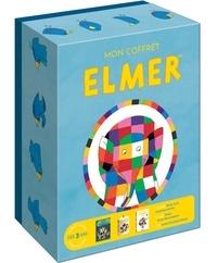 David McKee - Mon coffret Elmer - Avec le livre Elmer et le nounours perdu, le jeu Elmer le jeu des couleurs et un livret d'activités.