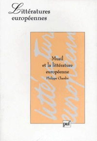 Philippe Chardin - Musil et la littérature européenne.