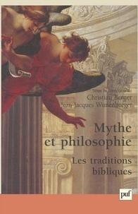 Christian Berner et  Collectif - Mythe et philosophie. - Les traditions bibliques.