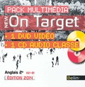 Belin - New On Target nd2e - Pack multimédia avec 1 DVD vidéo et 1 CD audio.
