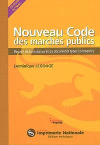 Dominique Legouge - Nounveau Code des marchés publics - CD-ROM.