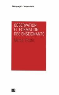 Marcel Postic - Observation et formation des enseignants.