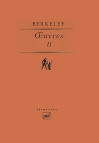 George Berkeley - OEUVRES. - Tome 2.