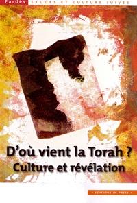Shmuel Trigano - Pardès N° 51 : D'où vient la Torah ? - Culture et révélation.