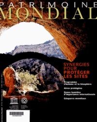 Unesco - Patrimoine Mondial N° 70 : Synergies pour protèger les sites.