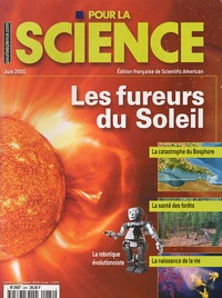 Didier Nordon - Pour la science N° 284, Juin 2001 : Les fureurs du Soleil.