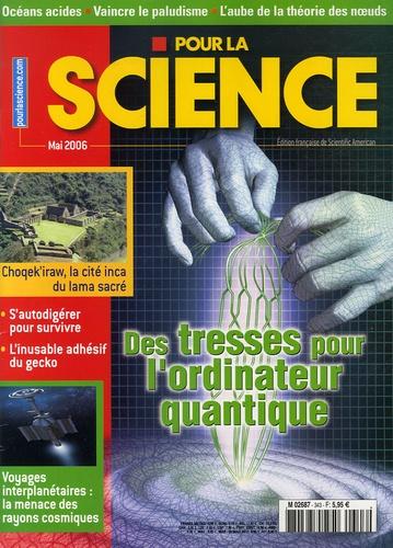 Graham Collins et Eugene Parker - Pour la science N° 343, Mai 2006 : Des tresses pour l'ordinateur quantique.