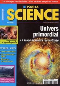 Hervé This et Didier Nordon - Pour la science N° 344, Juin 2006 : Univers primordial - La soupe de quarks reconstituée.