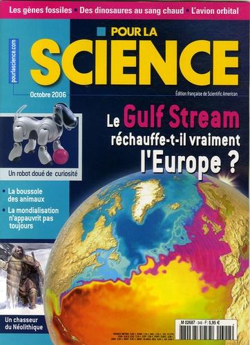 Richard Seager - Pour la science N° 348, Octobre 2006 : Le Gulf Stream réchauffe-t-il vraiment l'Europe ?.