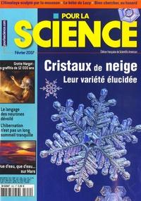 Françoise Pétry - Pour la science N° 352, février 2007 : Cristaux de neige - Leur variété élucidée.