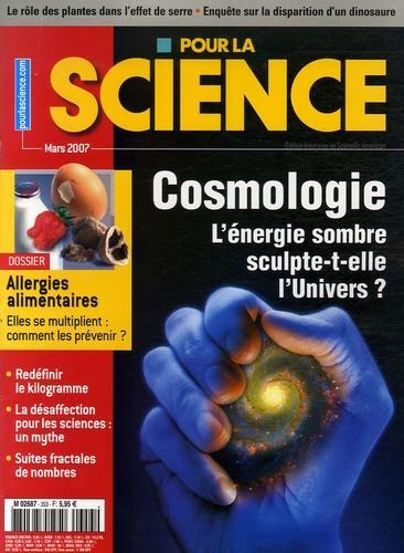 Christophe Conselice - Pour la science N° 353, Mars 2007 : Cosmologie - L'énergie sombre sculpte-t-elle l'Univers ?.