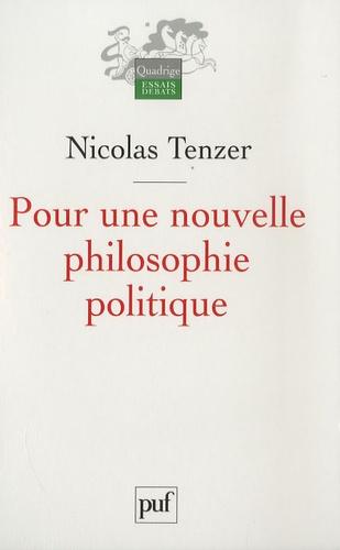 Pour une nouvelle philosophie politique. De la philosophie à l'action et retour 1