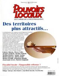 Fabrice Hatem et Christophe Demazière - Pouvoirs locaux N° 61, Juin 2004 : Des terrritoires plus attractifs.