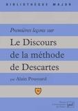 """Alain Poussard - Premières leçons sur """"Le discours de la méthode"""" de Descartes."""