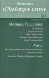 Ilan Bizberg et Magali Modoux - Problèmes d'Amérique latine N° 50 automne 2003 : Mexique, l'élan brisé.