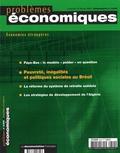 Jérôme Sgard et Florent Masson - Problèmes économiques N° 2844 mercredi 18 : Pauvreté, inégalités et politique sociales au Brésil.