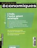 Patrice Merlot et Arvind Panagaryia - Problèmes économiques N° 2866, Janvier 200 : L'Inde, l'autre géant asiatique.
