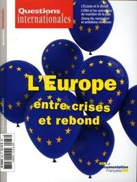 Serge Sur et Gilles Andréani - Questions internationales N° 88, novembre-déce : L'Europe entre crise et rebond.