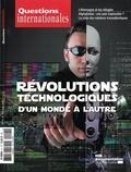 La Documentation Française - Questions internationales N° 91-92 : Révolutions technologiques : d'un monde à l'autre.