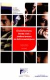 Conseil Economique et Social - Rapports du CESE Tome 2012 : Droits formels/droits réels: améliorer le recours aux droits sociaux des jeunes.