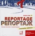 Véronique Jouan-Lafont et Françoise Kovalenko - Reportage Russe - Livre 1 : pour le professeur et l'élève. 2 CD audio